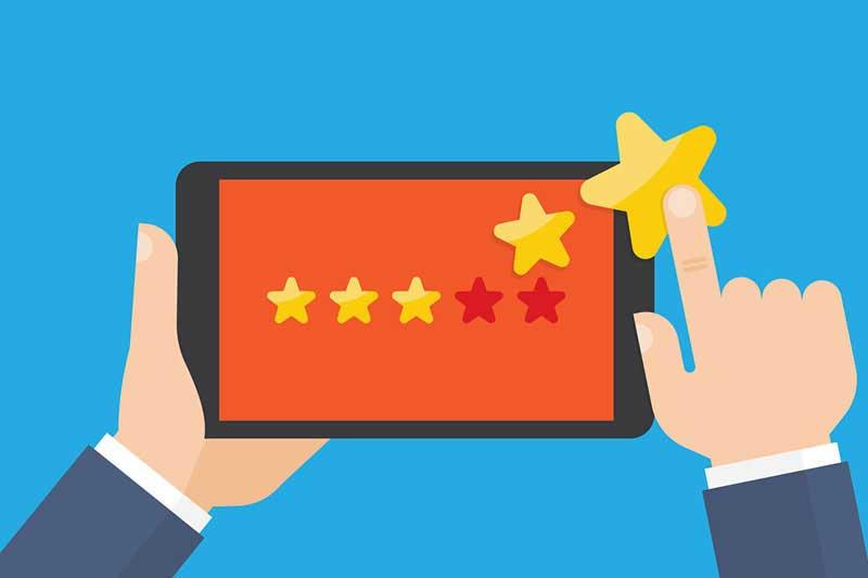 L'assouvissement du client et le feed-back sur le service de <span>réservation d'hôtel en ligne</span>